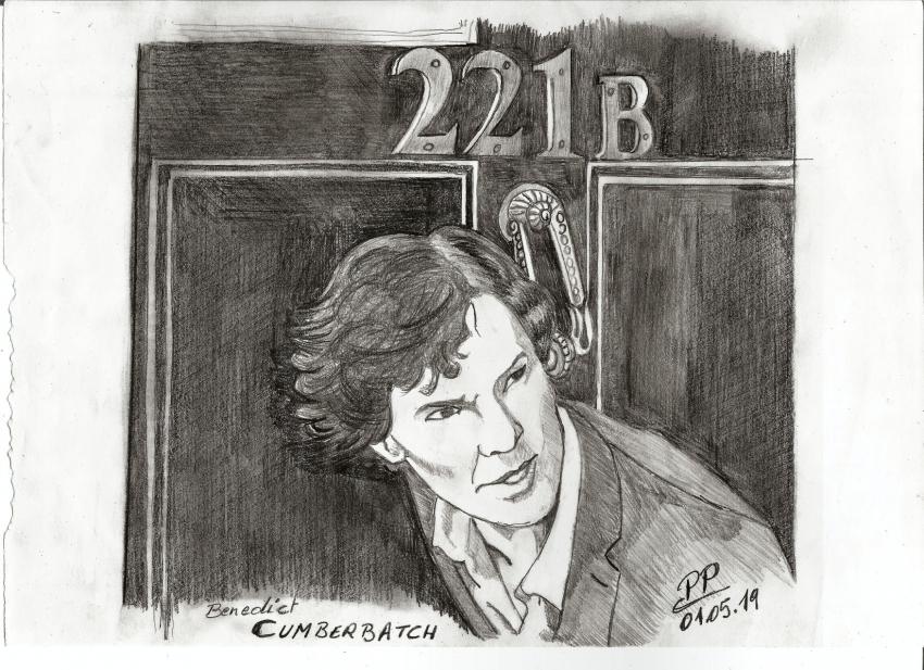 Benedict Cumberbatch by Patoux